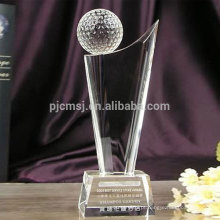 Mais recente projeto de qualidade superior personalizado troféu de cristal