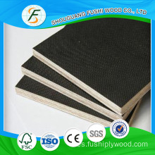 Construcción 18mm Black Film Faced Phenolic Plywood