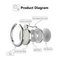 Custom metal mobile ring holder 360 with printing logo ring holder cell phone OEM&ODM