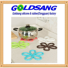 High Quality Popular Silicone Foolower-Shape Pot Holder