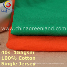 Cotton Spandex Single Jersey Fabric for T-Shirt Blouse (GLLML399)