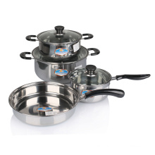 8PCS Set Stainless Steel Cookware Set