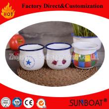 Sunboat Emaille Milch Tasse Drink Haushaltsgerät