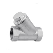 Stainless Steel Y Type Spring Loaded Check Valve 800wog
