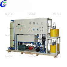 Machine de traitement de filtre de purification d'eau de mer de RO
