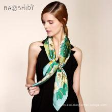 2016 precio al por mayor de la bufanda de seda para la mujer