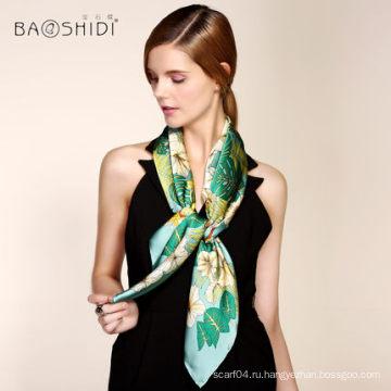 2016 шелковый шарф оптовая цена для женщины