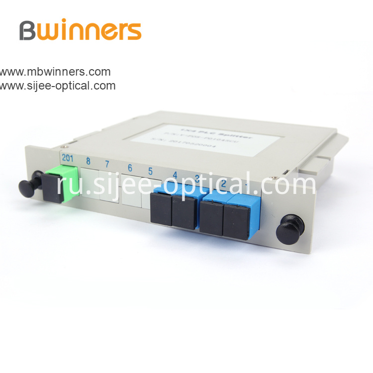 Insertion Module 1x4 Plc Splitter