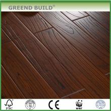 Hand scraped Teak Parquet flooring