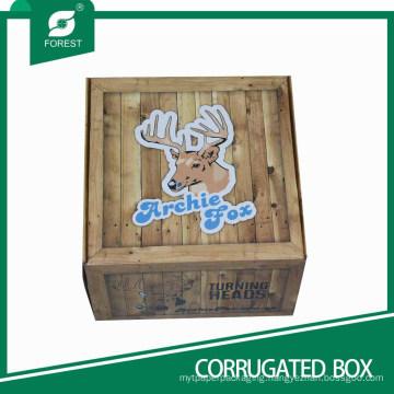 Decorative Corrugated Carton Box