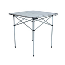 Quality Aluminum Light Weight Picnic Outdoor Foldable Table (QRJ-Z-002)