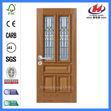 *JHK-FD05 5 Panel Interior Door Custom Fiberglass Doors Fiberglass Sliding Glass Doors