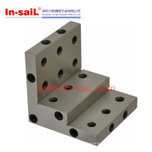 Steel Mounting Hole Multi Selectable CNC Machining Angle Plates