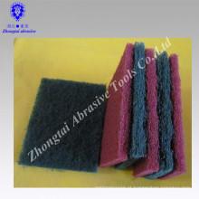 almofada de abastecimento abrasivo