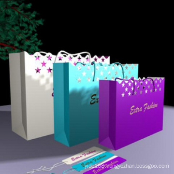 Gift Bags with Lace and Lacy