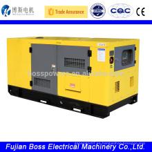 430KW tipo silencioso Huachai deutz gerador de energia