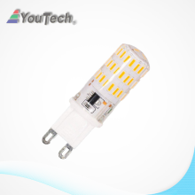 6000K 4w silicon led g9 bulb light