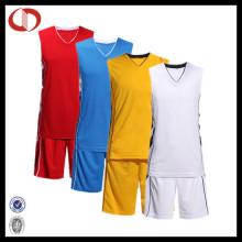China Blank Plain Custom Basketball Trikot 2016