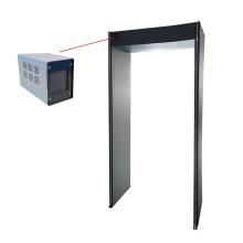 Porta do scanner de segurança do detector de temperatura do corpo humano