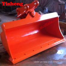 hitachi EX120 ZAX120 excavator tilt bucket hydraulic tilting bucket with 2 cylinders