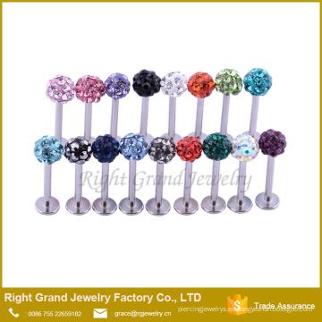 El acero inoxidable barato Labret Ring Lip Rings Studs Body Piercing Jewelry