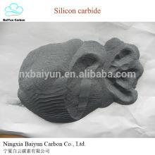 SiC 98% grünes Siliziumkarbid zum Schneiden / Polieren von Kunstachat und Glas
