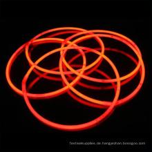 Orange Leuchtstab Halskette