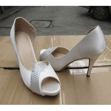 2016 Fashion High Heel Ladies Peep Toe Sandals (HCY02-1457)