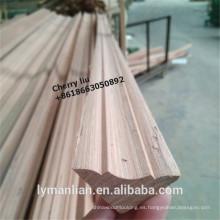 India corona tiras de madera molduras de techo molduras de madera de teca