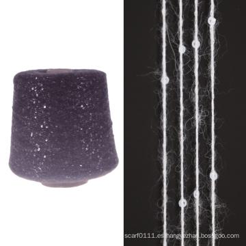 lana de alpaca bernat hilado de lentejuelas hilado de suéter mezclado