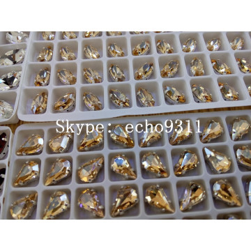 Forma del ojo del caballo para la decoración de joyas (DZ-3002)