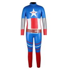 Traje de neopreno para niños Seaskin Smooth Skin Super Hero