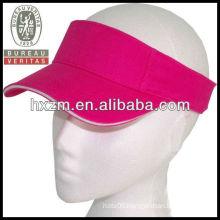 Custom Sun VISOR GOLF tennis headband cap
