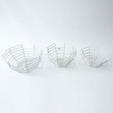 Spider Web Design Metal Carrying Basket