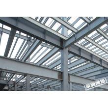 Estructura de marco de acero grande de China Q345 para la fábrica