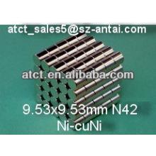 Zylinder-Magnet-D9.53x9.53-mm/Permanent-magnet