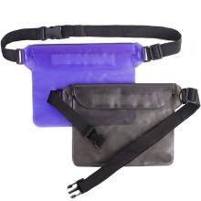 Saco de cintura de PVC leve transparente impermeável na moda