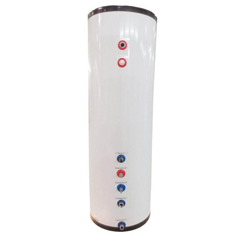 split heat pump with tank