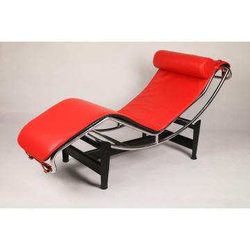 Le Corbusier Läder LC4 Chaise Lounge Chair Replica