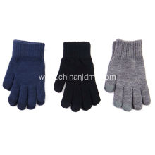 Men's Plain Touch Gloves