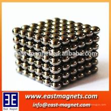 N50 Würfel maßgeschneiderte hochwertige riesige Magnetkugelmagnet
