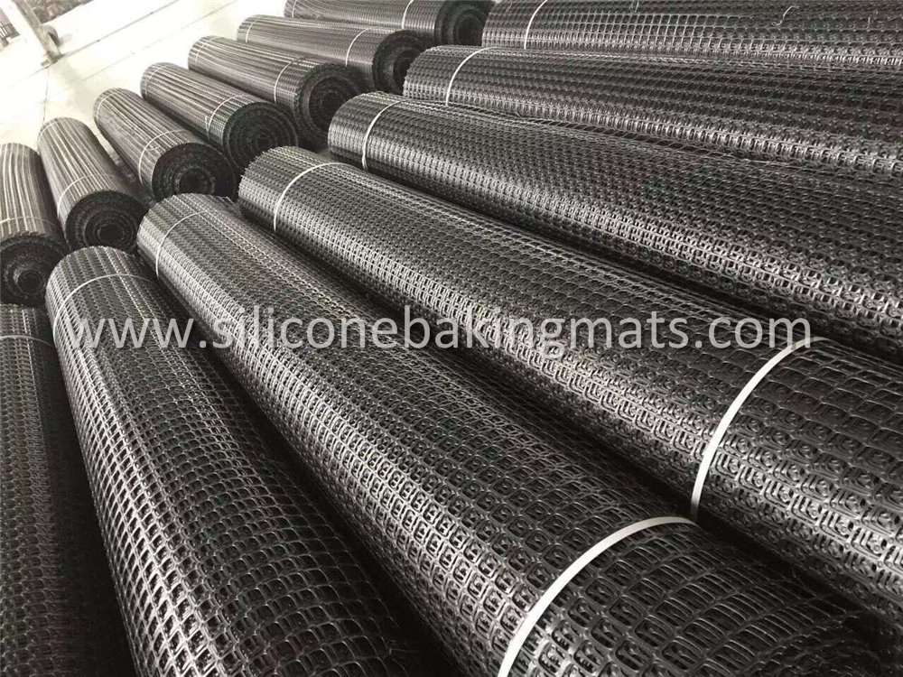 Polypropylene Biaxial Geogrid For Retaining Wall