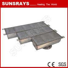 Brûleur rayonnant de fibre en métal de réchauffeur de gaz, brûleur de chauffage industriel
