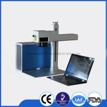 Fiber Laser Etching para a impressora de cor do aço inoxidável / laser / máquina de impressão do laser