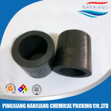 Carbon/Graphite Raschig Ring tower packing for heat resistance