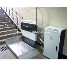 indoor outdoor inclined stair wheelchair lift for disabled