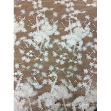 Embroidery off White Handmade Lace for Wedding Dress 23