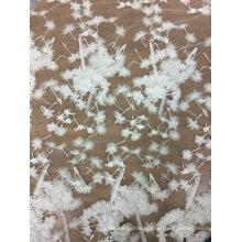 Вышивка Белый кружево ручной работы для свадебного платья 23
