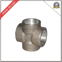 Butt Welding Pipe fitting Straight Cross (YZF-PZ132)