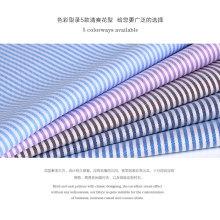 tela 100% teñida a medida del hilado del algodón del algodón en tira y control